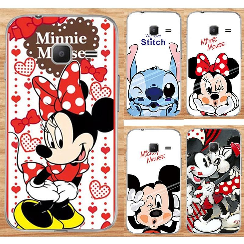 For Samsung Galaxy J1 Mini 2016 J105 J105H J105F Fashion Cases For Samsung J1 Nxt Duos Cute Cartoon Painted Phone Case Capa