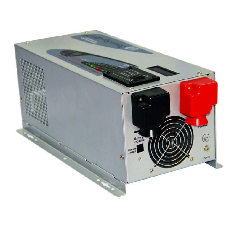 24 В 3000 Вт surge Мощность 6000 Вт off-сетки Чистая синусоида солнечный Мощность инвертор с Батарея зарядки функция AC 90-240 В 50 Гц/60 Гц