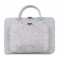 New Felt Universal Laptop Bag Notebook Case Briefcase Handlebag Pouch For Macbook Air Pro Retina Men