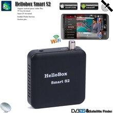 Hellobox receptor tv satélite localizador sintonizador inteligente s2 suporte ios/android/windows sistema jogar no telefone móvel/tablet/pc