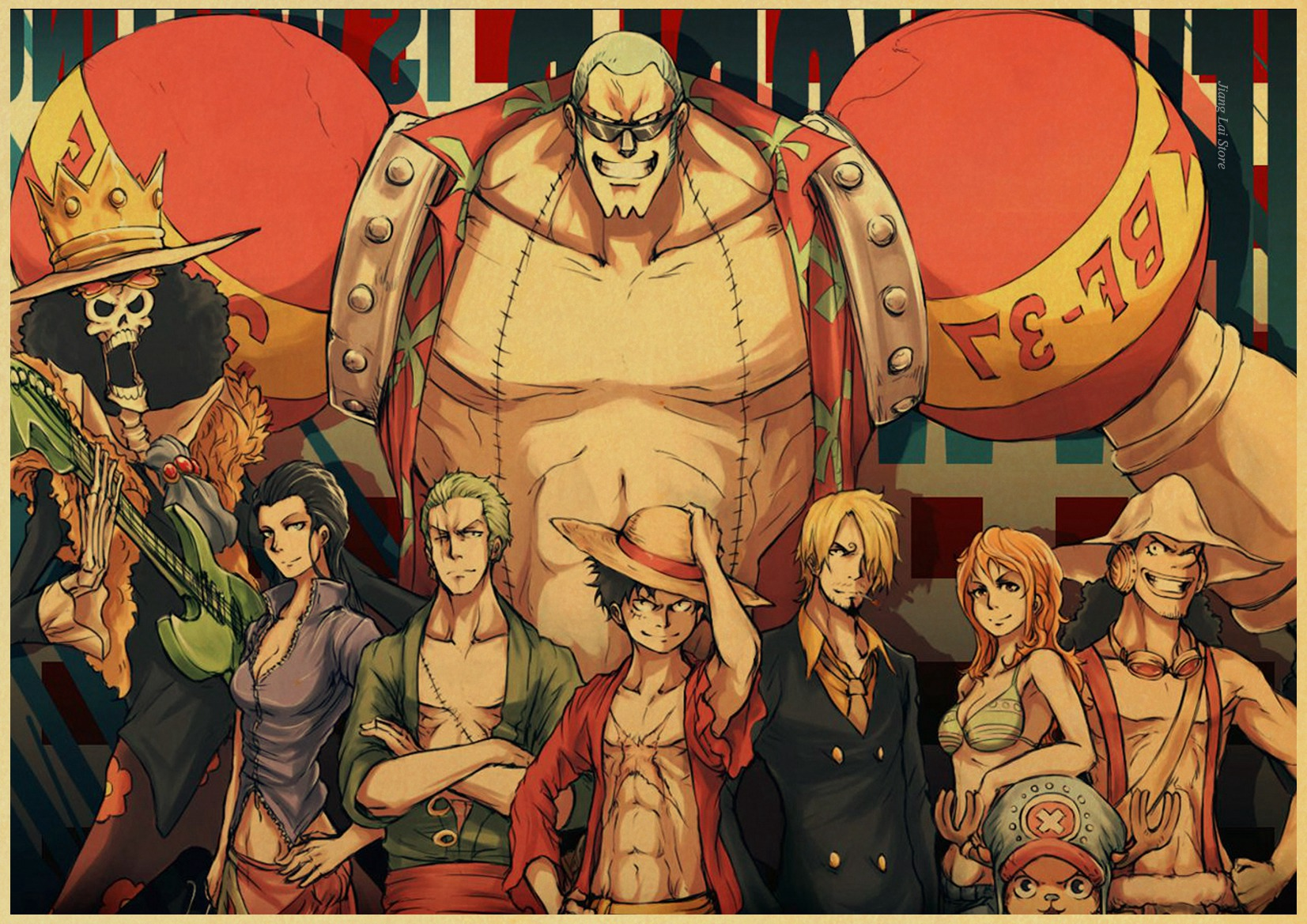 one piece animated wallpapers - HD1920×1080