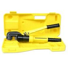 Горячая переносной ручной гидравлический резка арматуры инструменты ручной резак полосовой стали деформированные ножницы стержня от 4 до 16 мм