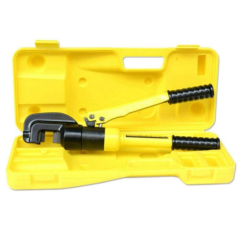 цена на hot selling portable manual hydraulic rebar cutting tools hand steel bar cutter deformed rod shear scissors 4 to 16mm