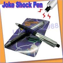 Подарок идея 10 шт. / lot электрическая анти-шок ручка шутка Gag шутки трюк забавный игрушки
