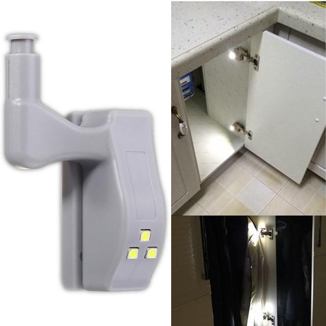 Perfect Hinge Light Closet Cabinet Wardrobe Light Furniture Hardware Smart LED  Night Light Lamp Sensor Lamp DC12V
