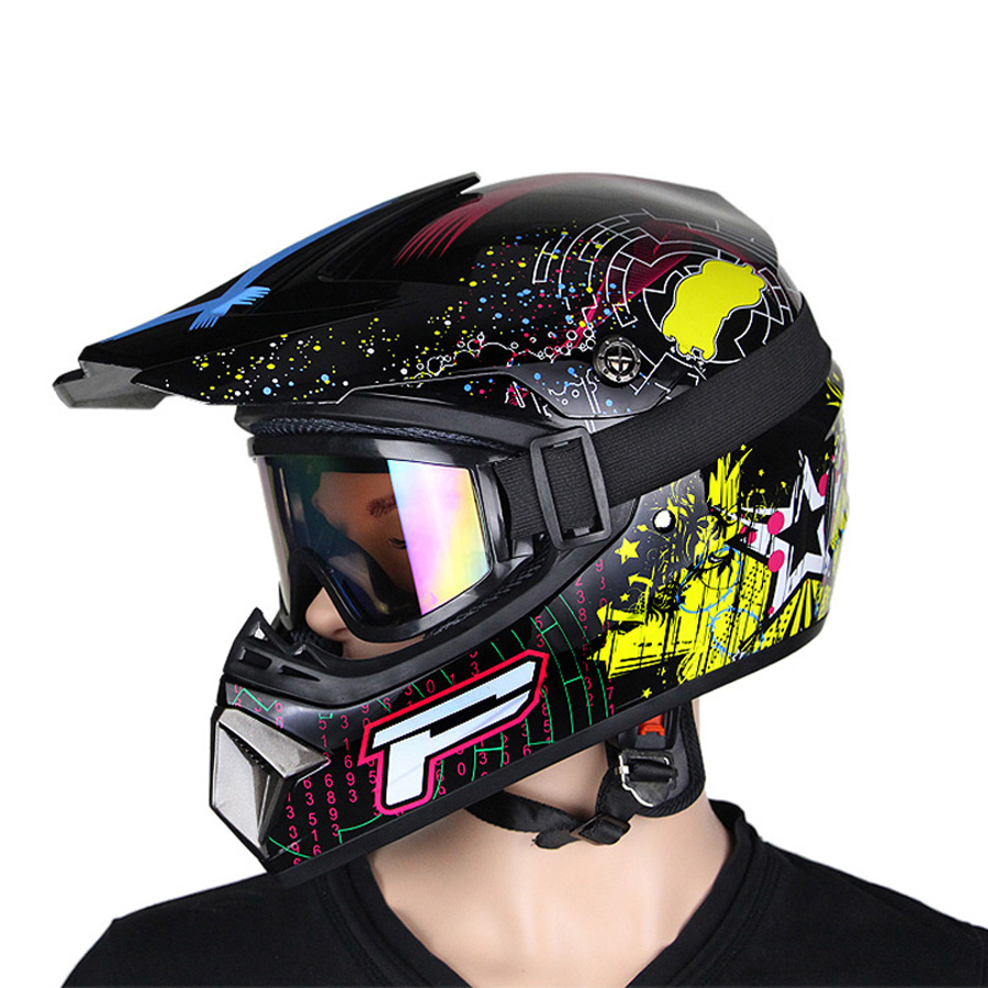 AHP Motobiker Helmet Classic bicycle MTB DH Racing Kids ...