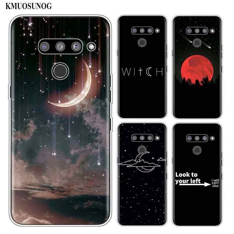 سيليكون لينة جراب هاتف الأسود الأشياء الجيدة ل LG K50 K40 Q8 Q7 Q6 V50 V40 V30 V20 G8 G7 G6 G5 ThinQ البسيطة غطاء