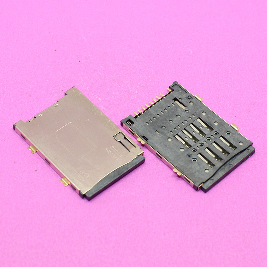 YuXi 8P+1P Sim card socket reader holder tray slot module adapters replacement.