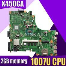 Материнская плата XinKaidi для Asus X450CC X450CA с процессором 1007U 2 Гб памяти