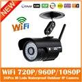 Пули Hd 1080 P Ip Камера 2-мегапиксельная Wifi Беспроводной Открытый Водонепроницаемый Инфракрасного Ночного Видения Motion Detect Cctv Веб-Камера Freeshipping