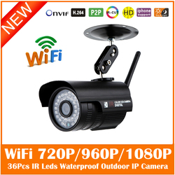 Hd bullet 1080p ip camera 2mp wifi wireless outdoor waterproof infrared night vision motion detect cctv.jpg 250x250