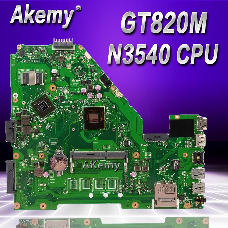 For Asus X550MD X550MJ X552M Y582M K550M Motherboard REV2.0 W// N2840 GT920M