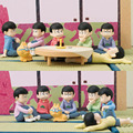 6pcs/lot Osomatsu-san Mr osomatsu san Karamatsu Ichimatsu Mini Cute PVC Action Figure Doll Collection Model Toy Gifts Cosplay
