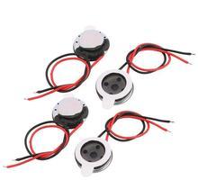Haut-parleur intégré, 10 pièces, 10mm de diamètre, 1W, 8 Ohm, 1000Hz, pour ordinateur
