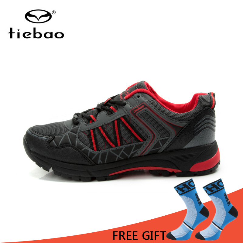 Tiebao Self Lock MTB Cycling Shoes Leisure Bike Shoes Men Breathable Non Slip Bicycle Shoes sapatilha ciclismo racmmer cycling gloves guantes ciclismo non slip breathable mens