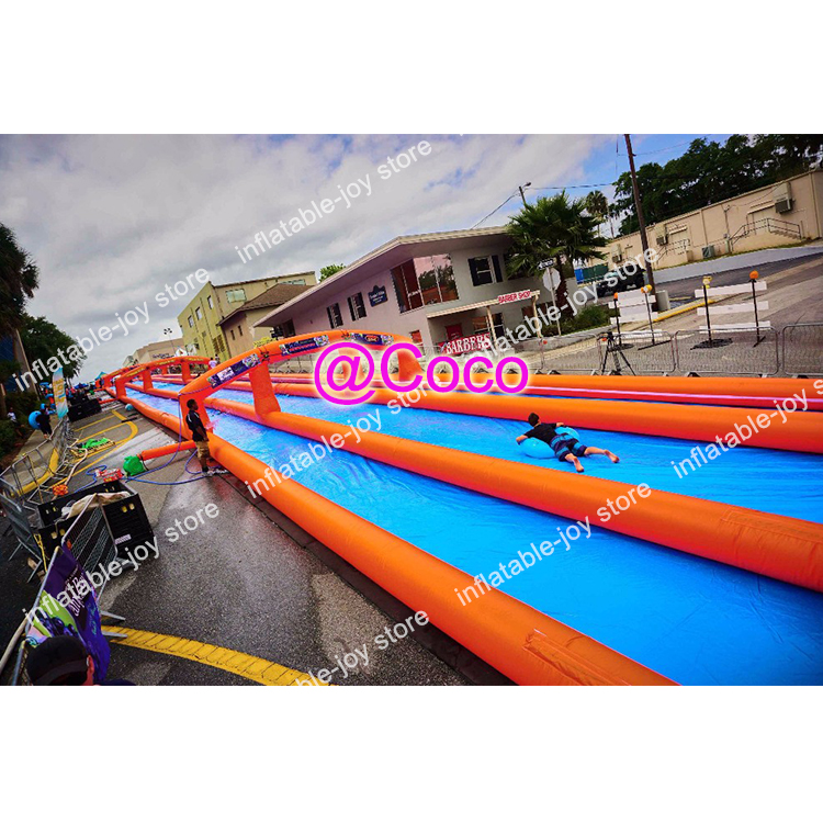 Inflatable Water Slide Port Macquarie: Free Ship To Sea Port!city Water Slide Large Outdoor 100M