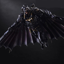 Play arts change PA change Steampunk Batman can do hand model decoration super hero doll 28cm marvel steel chivalrous limit edition spider bat hand do pa change superman die paternity can action figure schoolboy gift