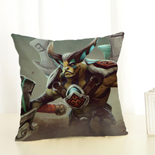 2018 New Arrive Deer DOTA2 Cushion Cover Decorative Sofa Dota Game Throw Pillow Car Chair Home Decor Pillow Case Almofadas shabby chic car decorative cushion cover retro truck mini bus game chair pillow cover 45cm pillow case home decor sofa bedding