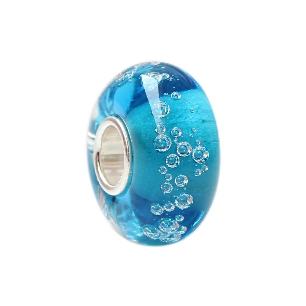 Neue Regentropfen Charme Perlen 925 Sterling Silber 4,5mm Loch Charms Fit Ursprüngliche Troll Armband & Halskette Schmuck