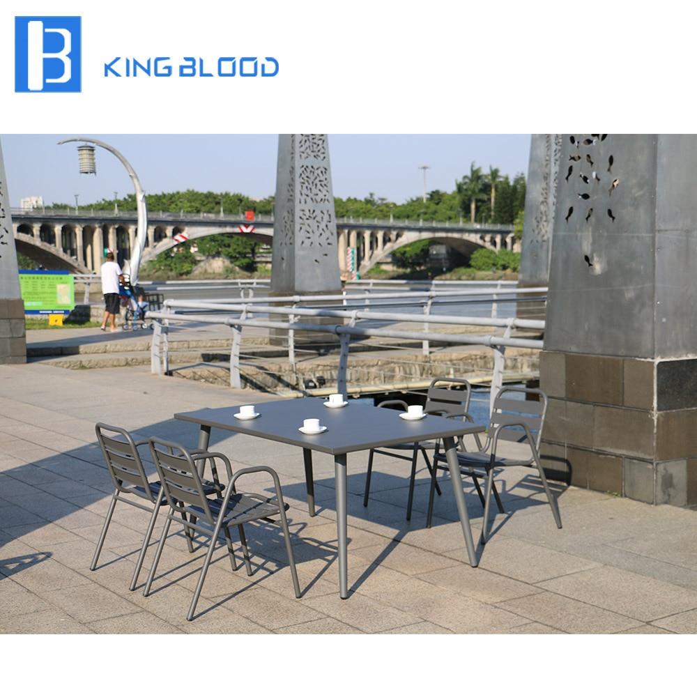 cast aluminum Furniture 4 Seats Outdoor Dining Set|Garden Sets| |  - title=