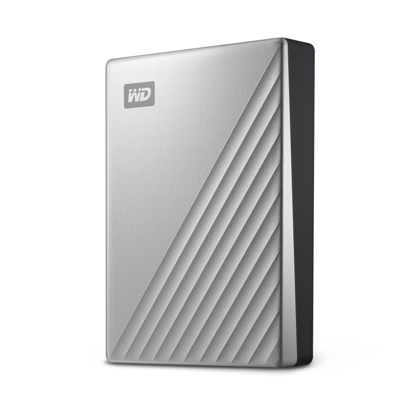 Image 4 - Western Digital WD My Passport Ultra 1TB 2TB 4TB External Hard Drive Disk USB C 256 AES Portable Encryption HDD for Windows Mac-in External Hard Drives from Computer & Office