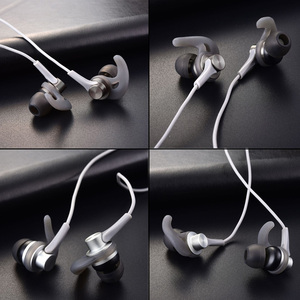 Image 5 - سماعة اذن düzke DQ1 ستيريو باس للهاتف رياضية داخل الاذن سماعات معدنية ايفي مع ميكروفون لاجهزة سامسونج شاومي