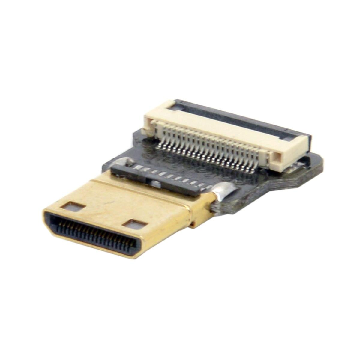 10 pcs/lot câble CYFPV Mini HDMI Type C mâle connecteur droit Standard pour FPV HDTV Multicopter photographie aérienne