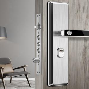 Image 1 - ステンレス鋼隠し指紋ロック電子バイオメトリック指紋ドアロック屋内個人保護ホームロック