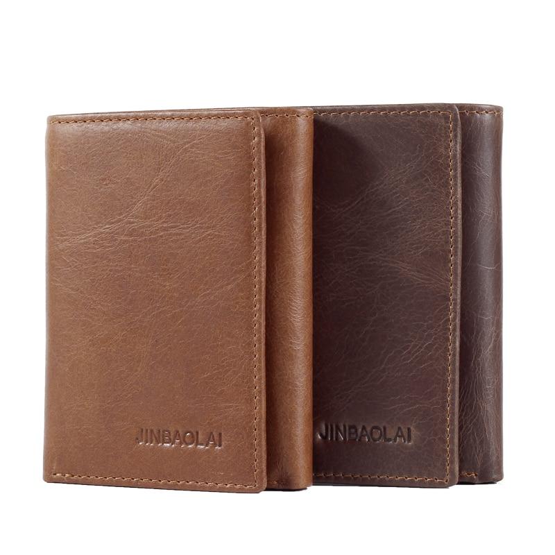 все цены на Newest Men Wallet Men Short Wallet Zipper Purse Card Holder Coin Pocket New Fashion Cow Leather Soild Pattern Designer Wallet