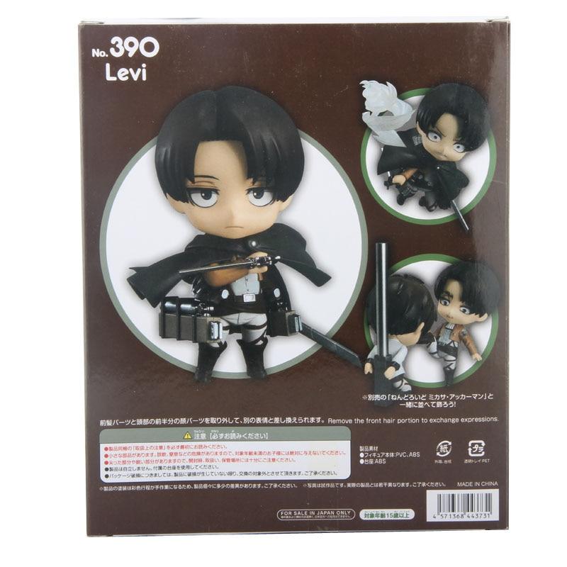 Nendoroid Levi Back Box