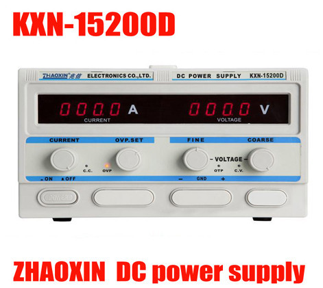 ZHAO XIN KXN-15200D KXN Series High-power Switching DC Power Supply Single output:0-15V 0-200A new lp2k series contactor lp2k06015 lp2k06015md lp2 k06015md 220v dc
