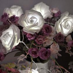 Holiday lighting 20 font b led b font font b rose b font flower novelty garland.jpg 250x250