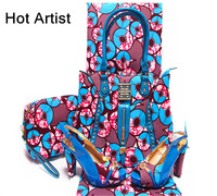 Fashion Bride Sandal Shoes And Bag Set Summer Style Woman High Heel Shoes And Bag Set