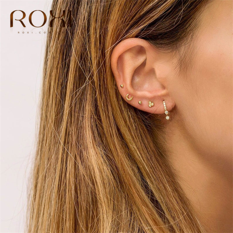 Boucle D/'oreille Femmes FASHION pour Filles Cadeau Boucle d/'oreille Fashion Jewelry Ear Stud