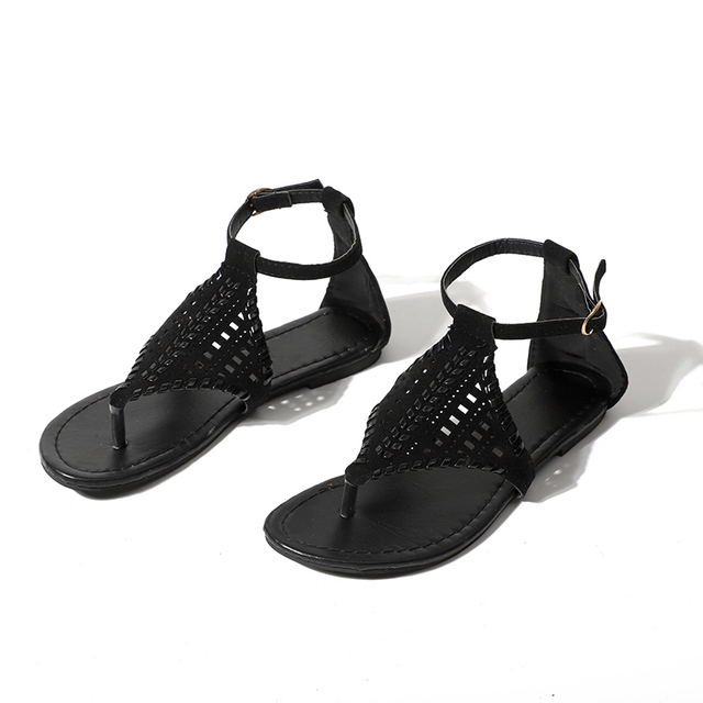 Women's Cut Out Flat Sandals
