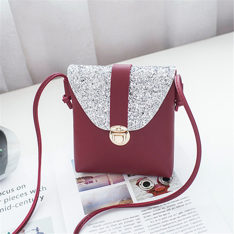Fashion Women's Pouch Bags For Women 2019 Phone Coin Bag Mini Crossbody Handbags PU Leather Satchel Tote Hot Package Sale