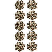 5 Pairs Leopard Print Flower Teat Tape For Females