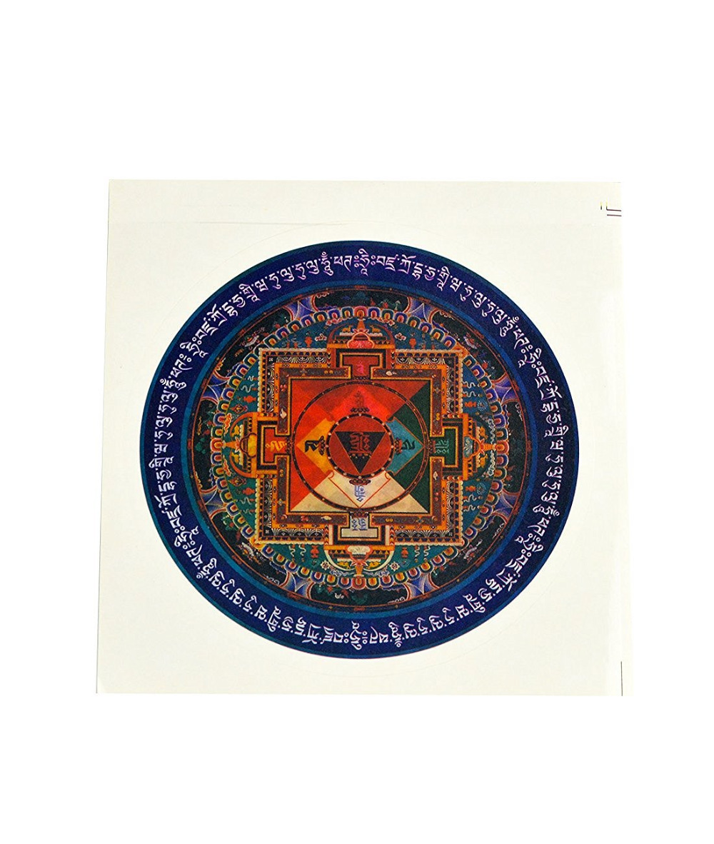 2017 Nové Feng Shui 2PCS Hayagriva Mandala Samolepky W Fengshuisale - Dekorace interiéru