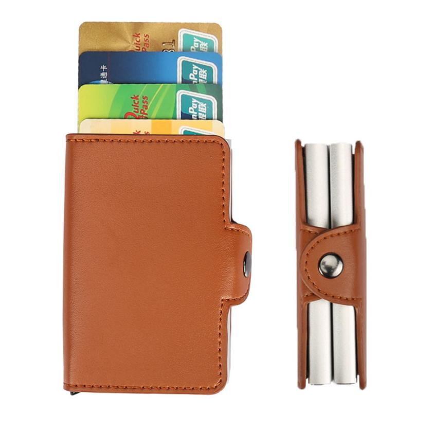 Xiniu Women Men Id Credit Card Protector Leather Wallet Holder Package Box Business