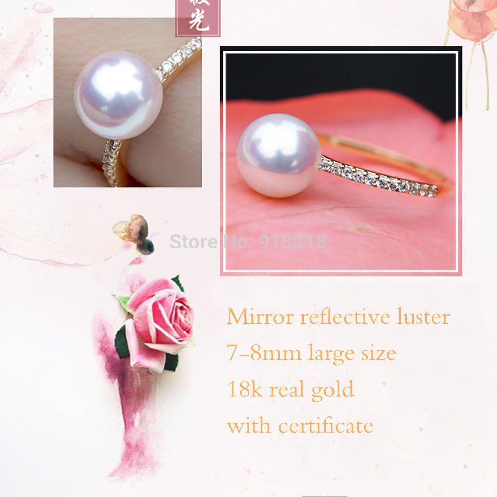 Aliexpress.com : Buy Need luster AKOYA natural seawater pearl Japan ...