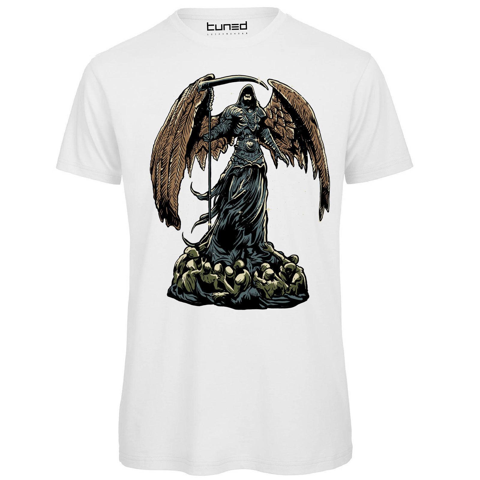 Vêtements Accessoires Cool T Shirt Hommes Skull Rocker