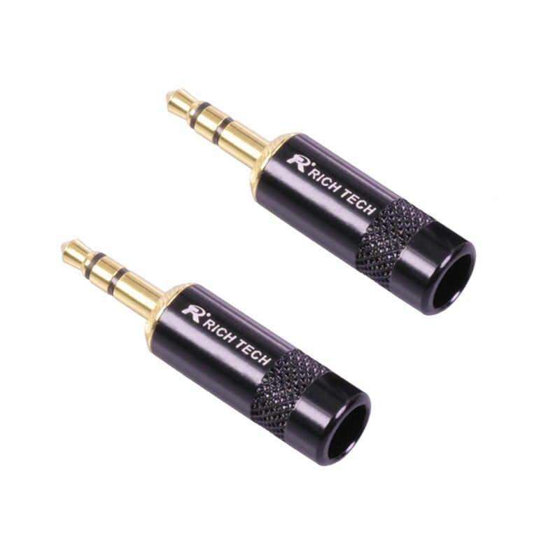 Позолоченный разъем Jack 3,5 мм стерео разъем пайки ТИП для наушников микрофон наушников ремонт DIY