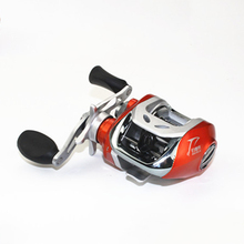 Super Light Anti-Corrosive Slat/Fresh Water Drop Wheel 200g 6.3:1 Baitcasting Fishing Lure Reel With Japan Bearing 50