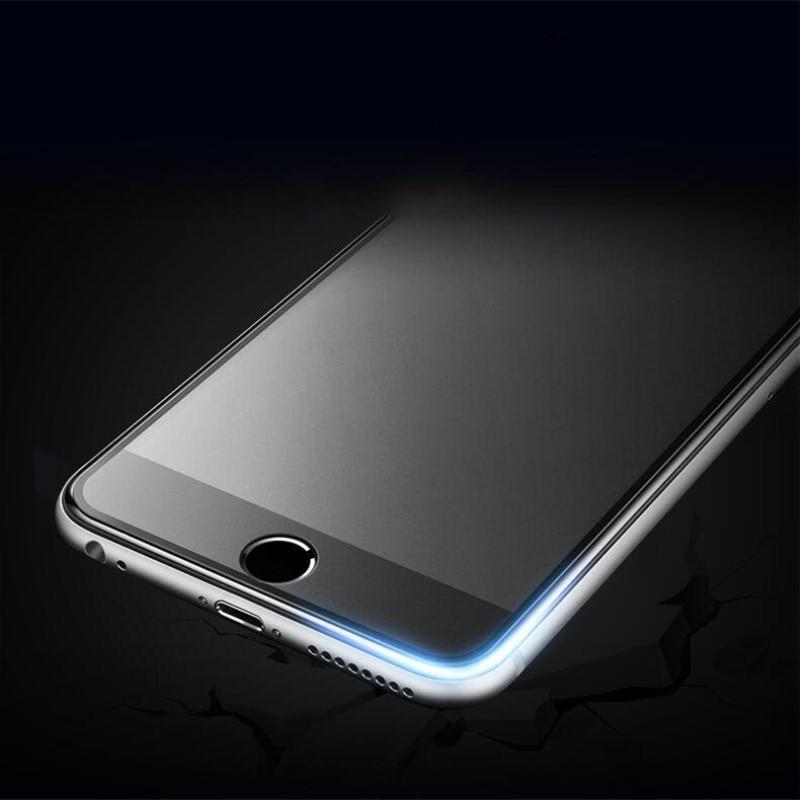 9H 2.5D matowy matowy pełna pokrywa szkło hartowane Screen Protector dla iPhone X XS MAX XR 10 8 7 6s 6 Plus 7Plus anty odciski palców 10