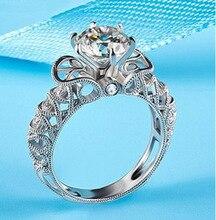 Women 925 Sterling Silver Wedding ring