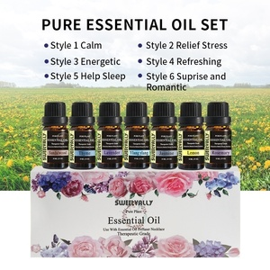 6 Style 10ml Essential Oil Set