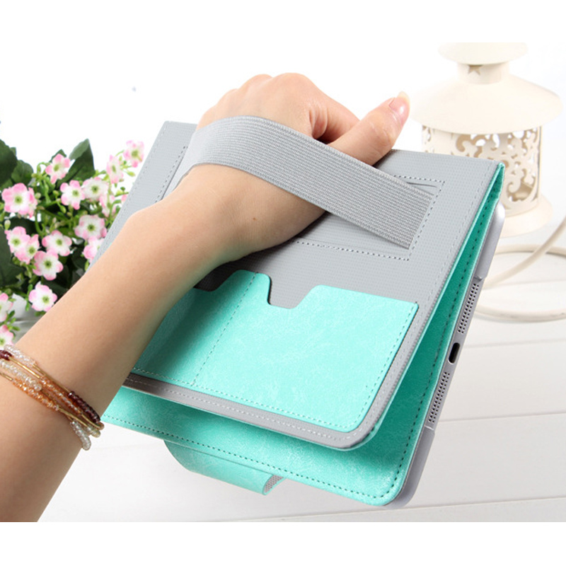 7.9 Hot Sale High Quality Fashion Tablet Case for Ipad Mini 1 2 3 Wallet Style Flip Bracket PU Leather Protective Case Dec26