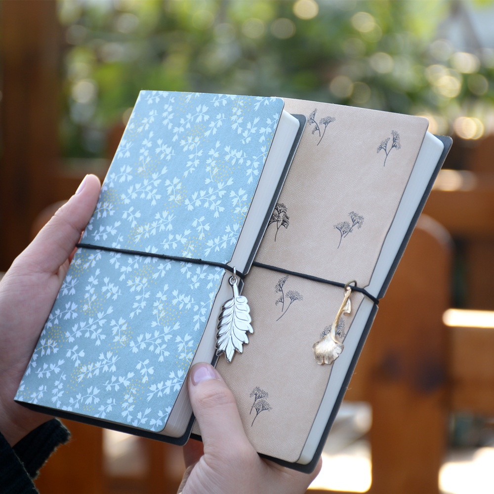 New Lovely Softcopy Diary Planner, PU Vintage Blank Refill Notebook Drawing Book, Journal Pocket Size Notepad soft copybook vintage rope spiral notebook pocket diary planner books travel journal notebook sketch craft blank refill paper