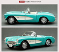 1:24 Maisto for Chevrolet Corvette 1957 convertible alloy car model toys for child free shipping