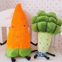 Freeshipping Vegetables Plush Pillow .Watermelon Soft Stuffed Doll Radish